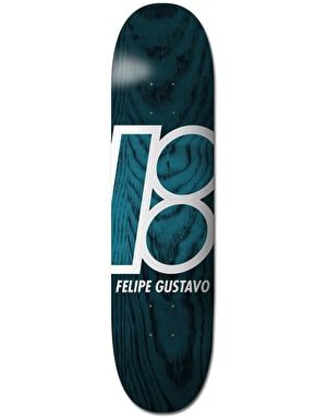 Plan B Felipe Stained Skateboard Deck - 8