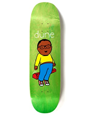 Prime Heritage Dune Curb Crusher Slappy Shape Pro Deck - 8.75
