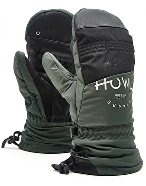 Howl Team 2018 Snowboard Mitts - Green