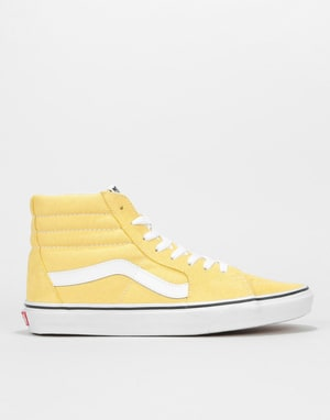 Vans Sk8-Hi Skate Shoes - Dusky Citron/True White