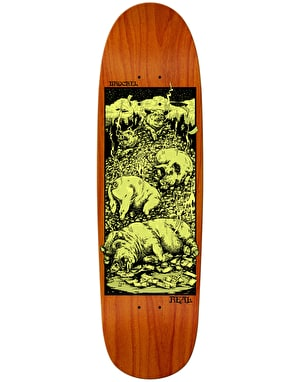 Real Brockel Pigs in Zen Skateboard Deck - 9.3