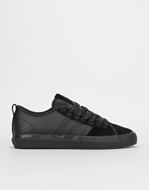 Adidas Matchcourt RX Skate Shoes - Core Black/Core Black/Silver Metall