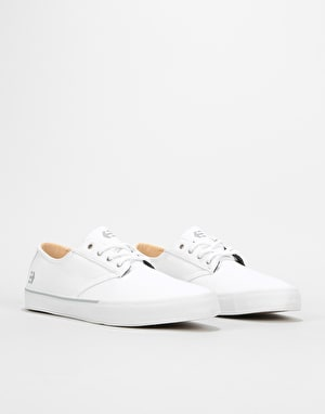 Etnies Jameson Vulc LS Skate Shoes - White