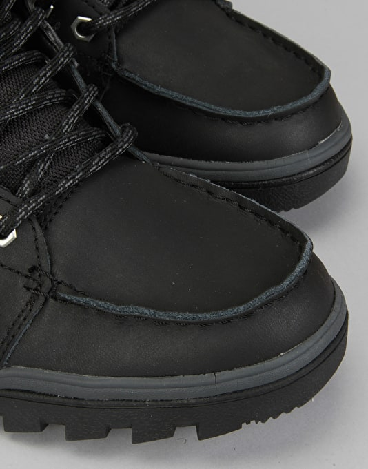 DC Woodland Boots - Black/Black/Grey