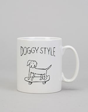Route One Doggy Style Mug - White