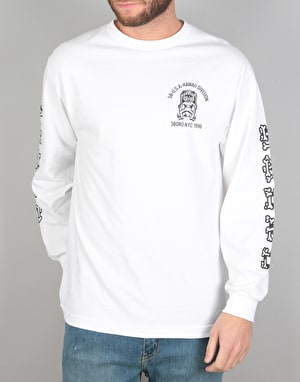 5Boro Hawaii Division L/S T-Shirt - White