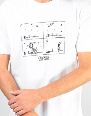 Theories How They Got Here T-Shirt - White