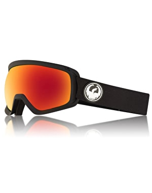 Dragon D3 OTG 2018 Snowboard Goggles - Black/LUMALENS® Red Ion