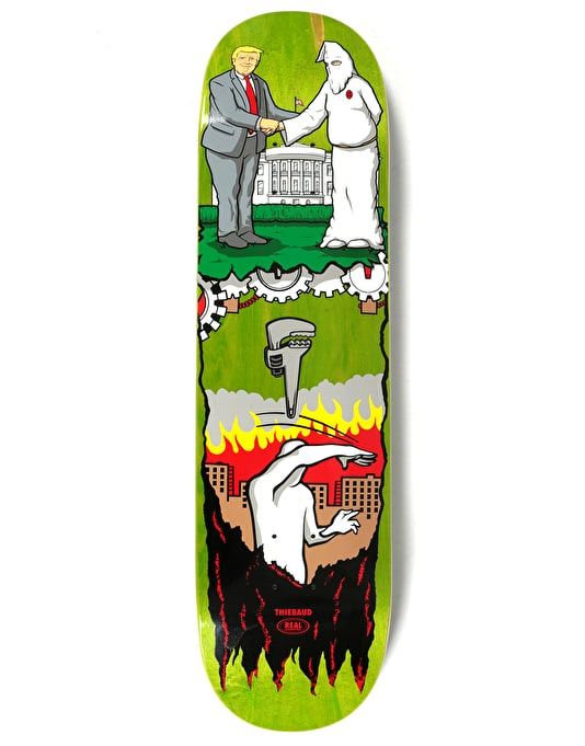 Real Thiebaud Wrench Justice Pro Deck - 8.25""