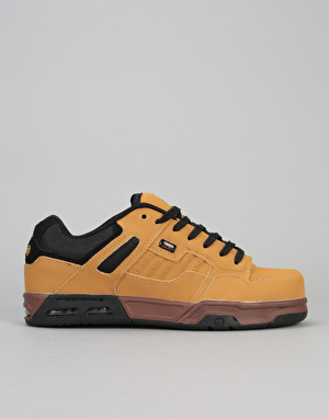 DVS Enduro Heir Skate Shoes - Chamois/Black Nubuck