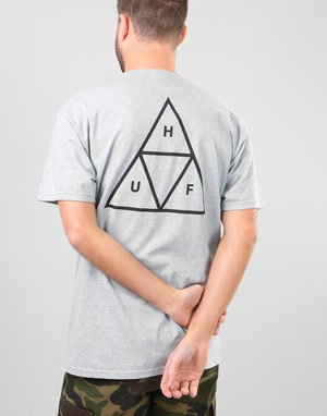 HUF Triple Triangle T-Shirt - Grey Heather