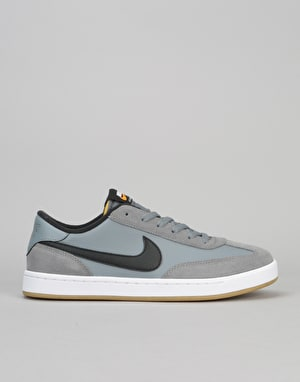 Nike SB FC Classic Skate Shoes - Cool Grey/Black-White-Vivid Orange