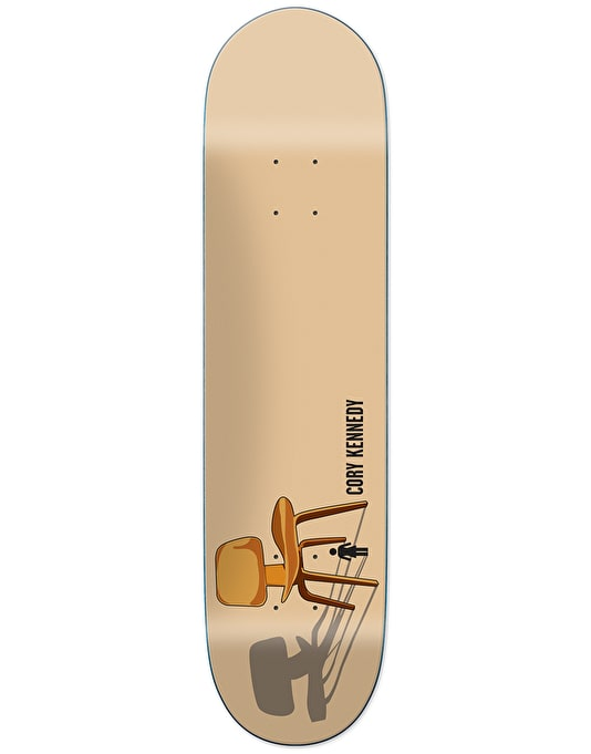 Girl Kennedy Modern Chairs Skateboard Deck - 8.25""