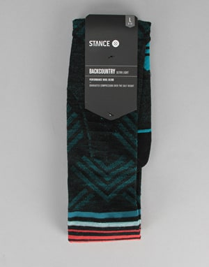 Stance Adios Backcountry Ultralight Snowboard Socks - Black