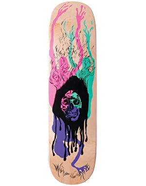 Welcome Here It Comes on Amulet Skateboard Deck - 8.125