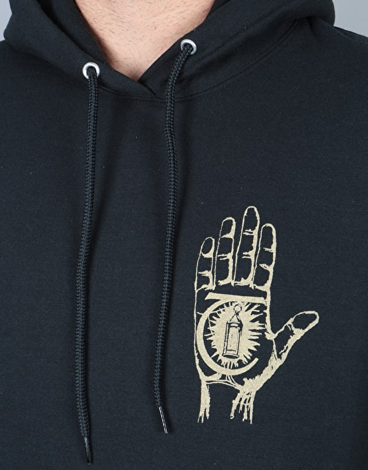 Theories Rasputin Pullover Hoodie - Black/Gold