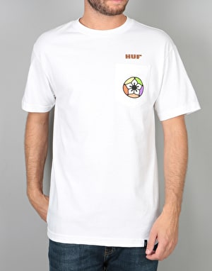 HUF AMFM Pocket T-Shirt - White