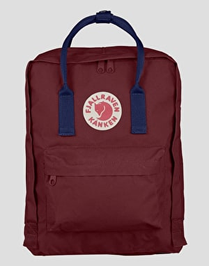 Fjällräven Kånken Backpack - Ox Red/Royal Blue