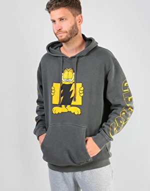 The Hundreds x Garfield Flag Pullover Hoodie - Pigment Black