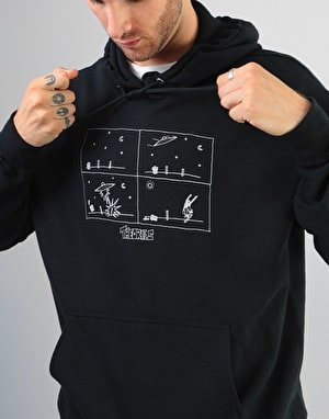 Theories How They Got Here Pullover Hoodie - Black