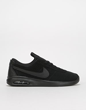 Nike SB Air Max Bruin Vapor Skate Shoes - Black/Black-Anthracite
