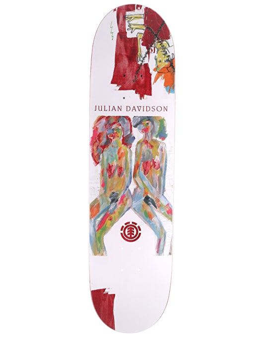 Element Julian Piper Skateboard Deck - 8.125""