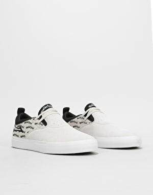 Lakai x Motorhead Riley 2 Skate Shoes - White Suede