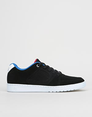 éS x Grizzly Accel Slim Skate Shoes - Black