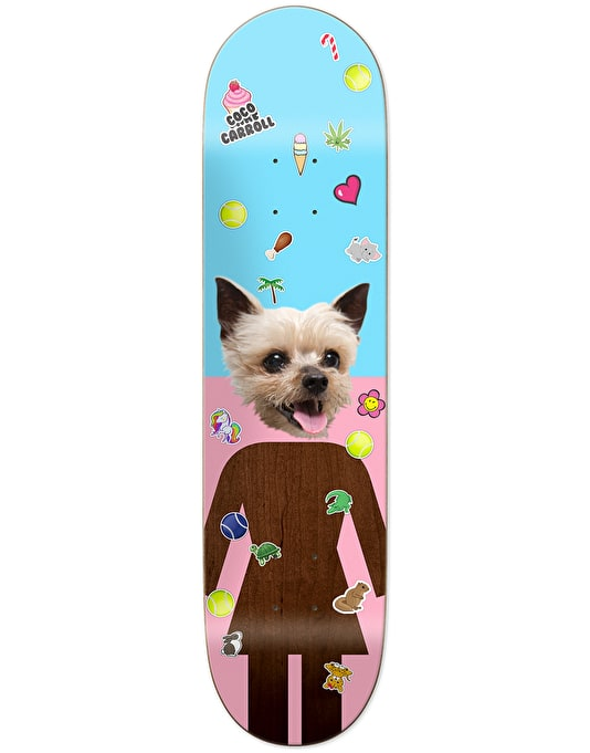 Girl Carroll Coco Skateboard Deck - 8.375""