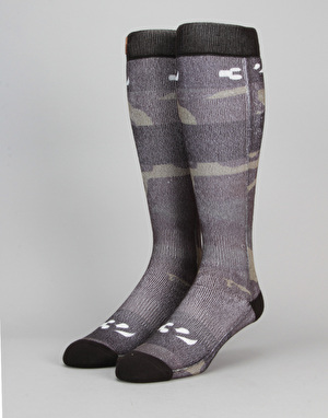 ThirtyTwo Camo Snowboard Socks - Camo