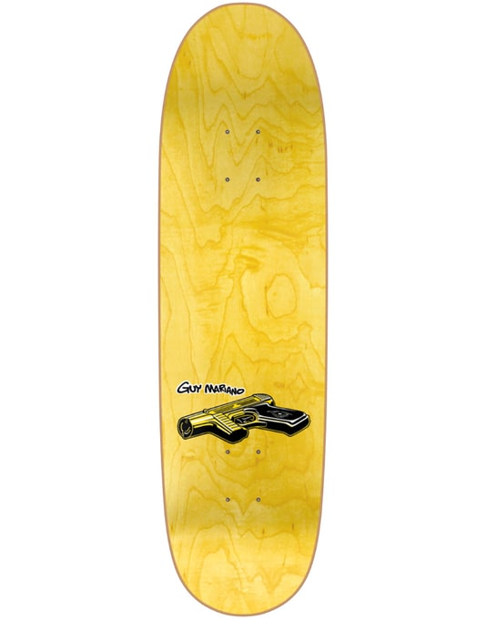 Blind Mariano Accidental Gun Death Slick Heritage Skate Deck - 8.75""