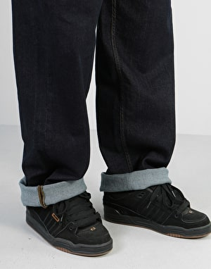 Route One Baggy Denim Jeans - Raw