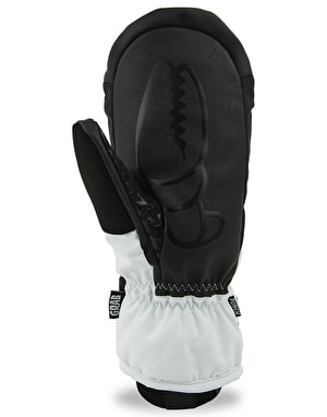Crab Grab Punch 2018 Snowboard Mitts - White