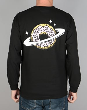 Skateboard Café Planet Donut L/S T-Shirt - Black