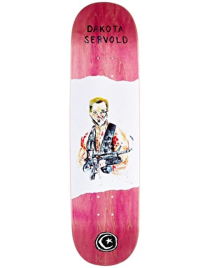Foundation Servold Metal Slug Skateboard Deck - 8.125