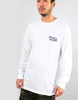 Stüssy One World L/S T-Shirt - White
