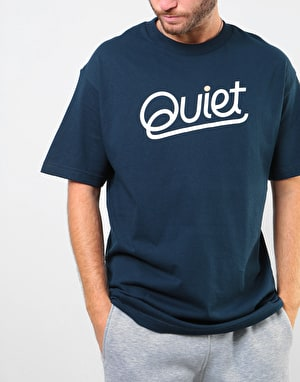 The Quiet Life Quiet T-Shirt - Navy