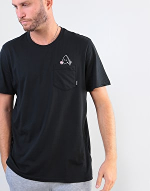 Adidas Skate Pocket T-Shirt - Black/White