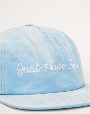 Just Have Fun Faded Selfstrap Cap - Blue