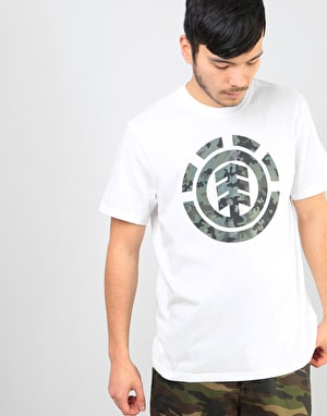Element Bark Logo T-Shirt - Optic White
