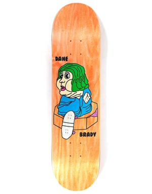 Polar Brady Bacon Hair Skateboard Deck - 7.875