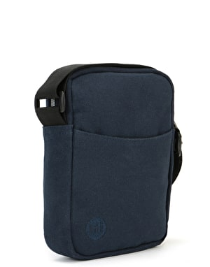 Mi-Pac Flight Canvas Cross Body Bag - Blue Black