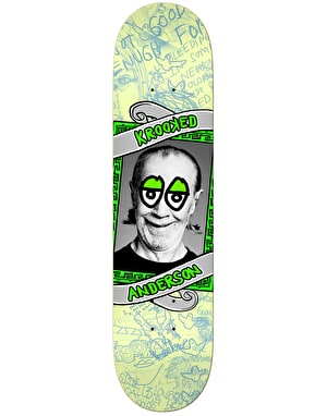 Krooked Anderson Personality Krisis Skateboard Deck - 8.25
