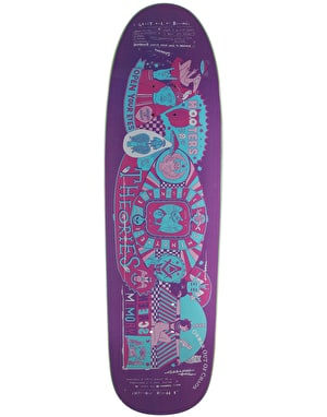 Theories Screen Memory Special Delivery Shape Skateboard Deck - 9