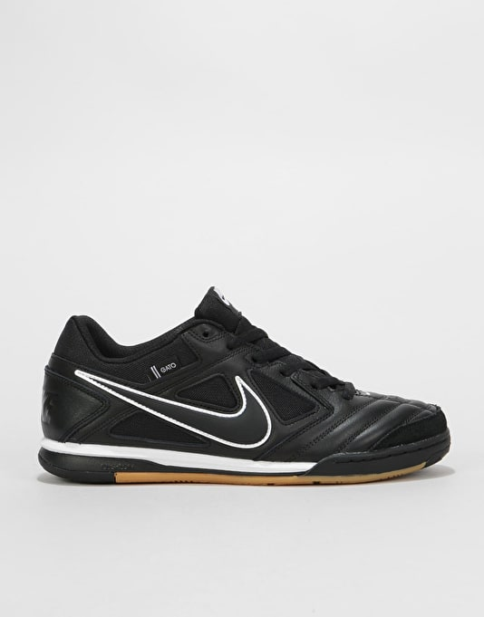 11a3d4de706 Nike SB Gato Skate Shoes - Black Black-White-Gum Light Brown