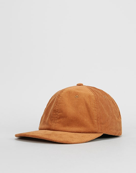 Route One Vintage Cord Dad Cap - Camel  c745713b399