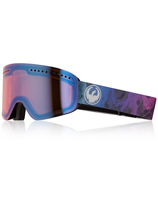 Dragon NFX 2018 Snowboard Goggles - Ink/LUMALENS® Blue Ion