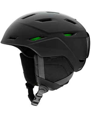 Smith Mission 2019 Snowboard Helmet - Matte Black