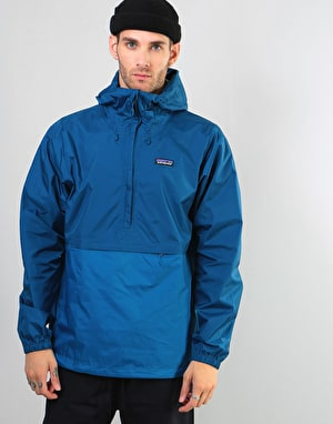 Patagonia Torrentshell Pullover Jacket - Big Sur Blue