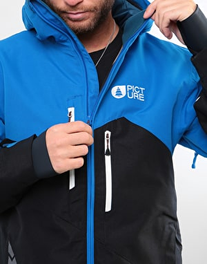 Picture Styler 2019 Snowboard Jacket - Black/Blue